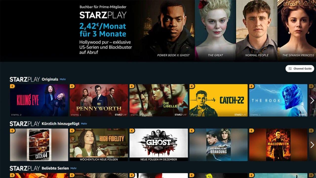 Prime Day 2020: Amazon Prime Video Channels günstig testen