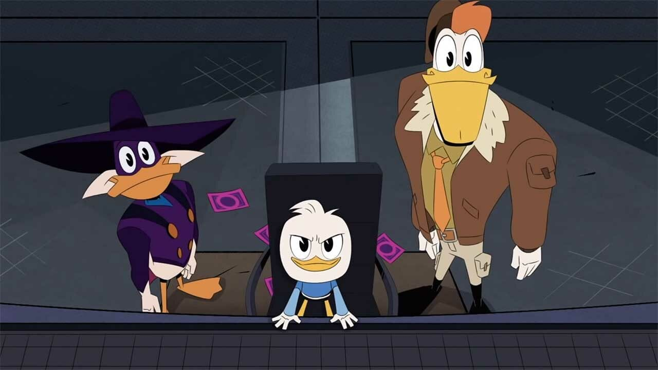 "Teaser aus dem ""DuckTales""-Special ""Let's Get Dangerous!"" mit Darkwing Duck"