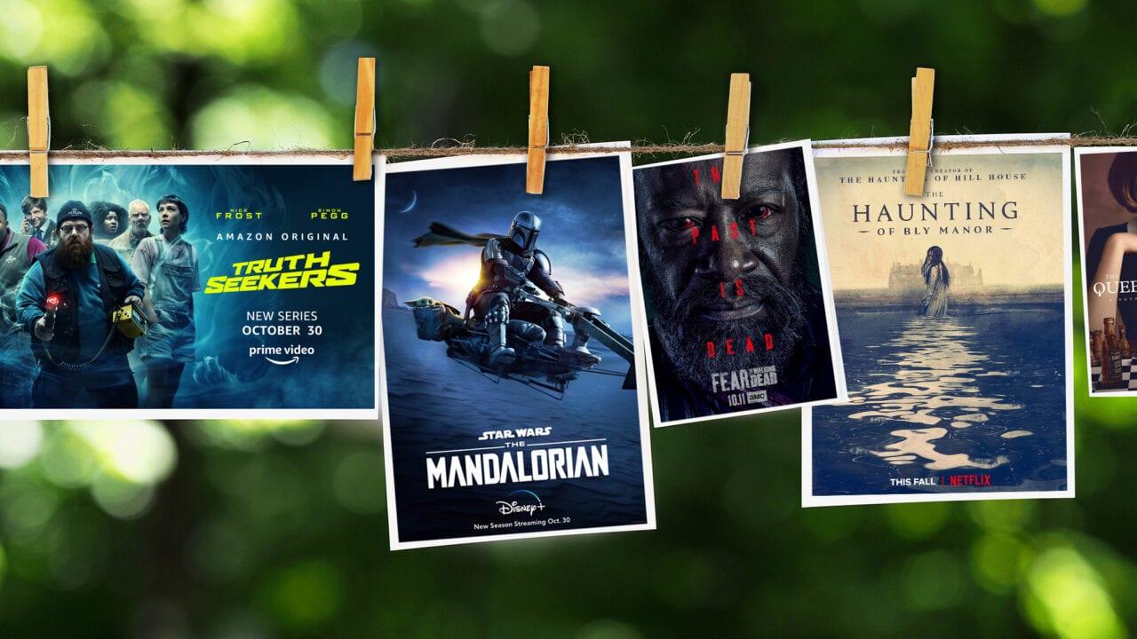 Serienposter von Neustarts Oktober 2020