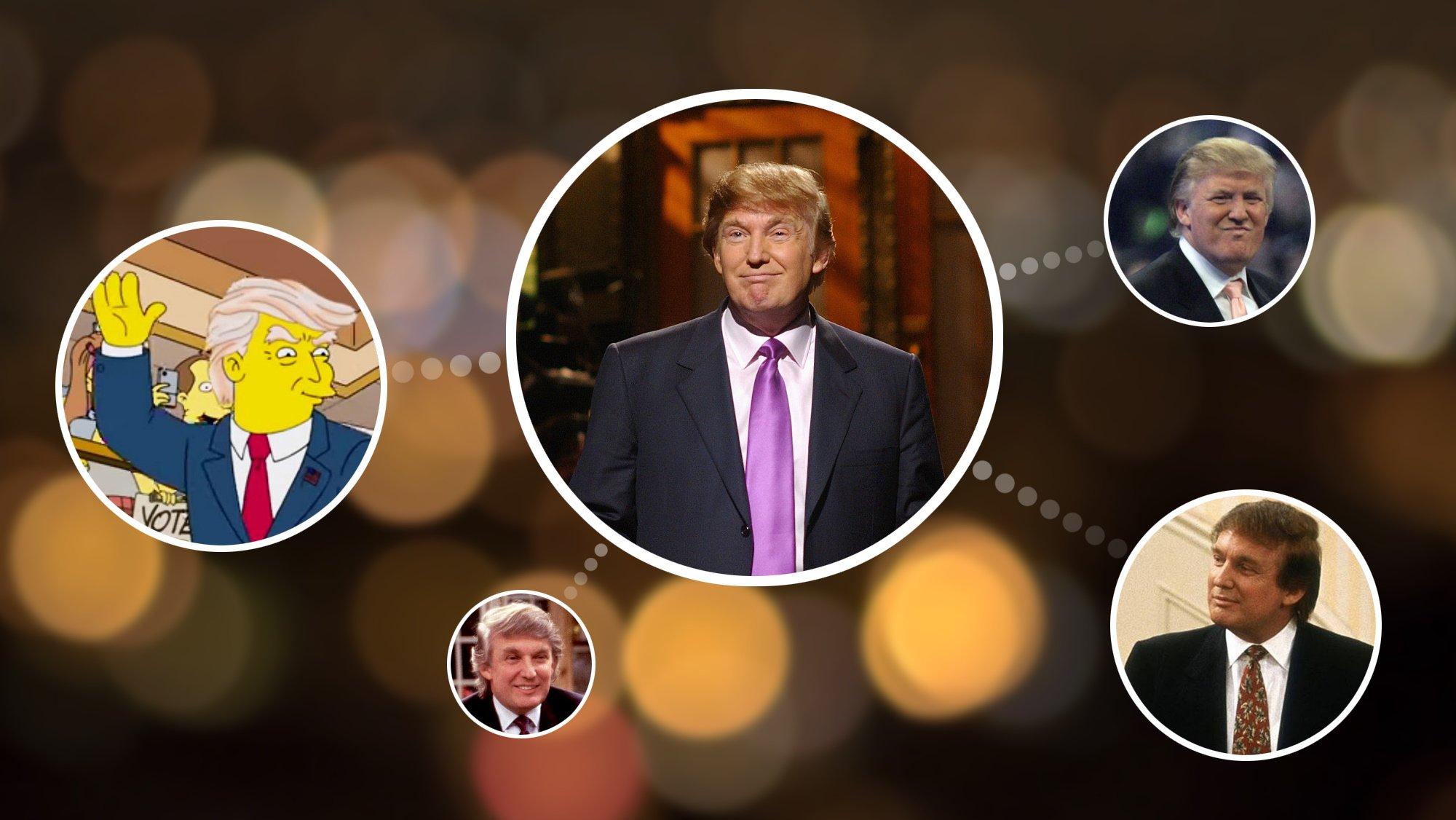In weiteren Rollen Donald Trump