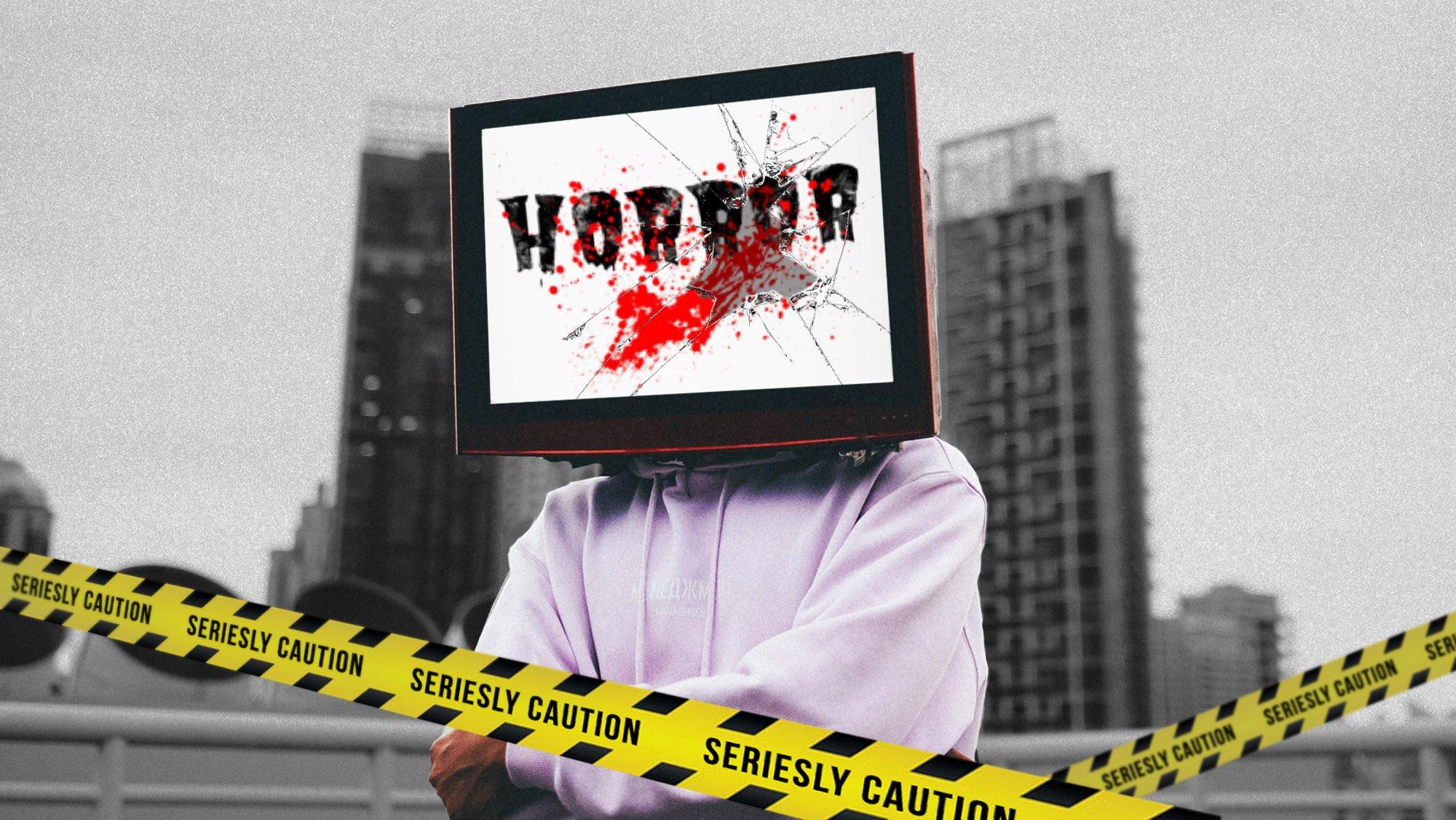 TV-Aufreger-Vorlage Horror