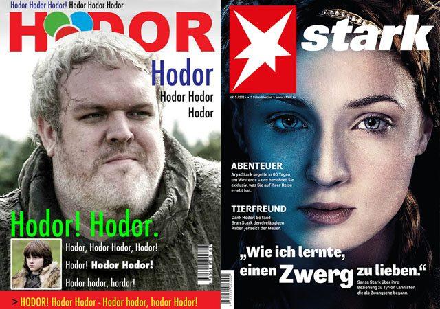 """Von """"Bran Eins"""" bis """"Hodor"""""""