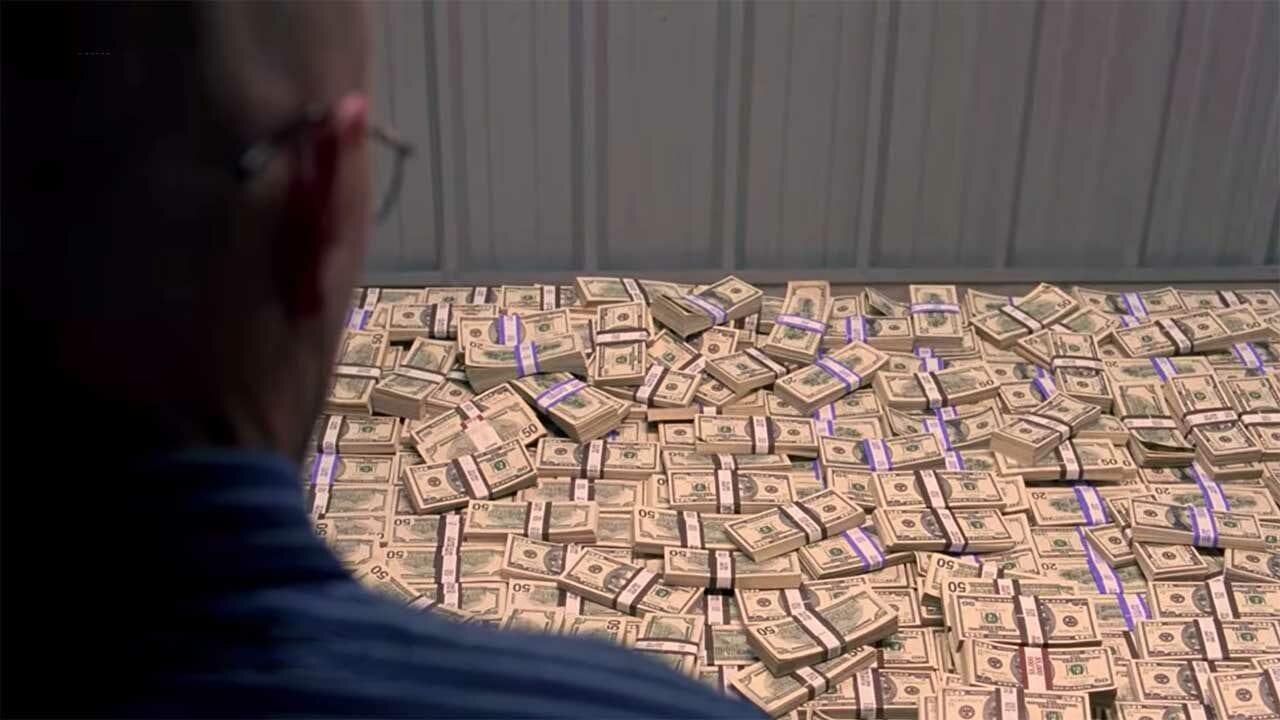 Künstliches Geld als Requisite in Fernsehserien