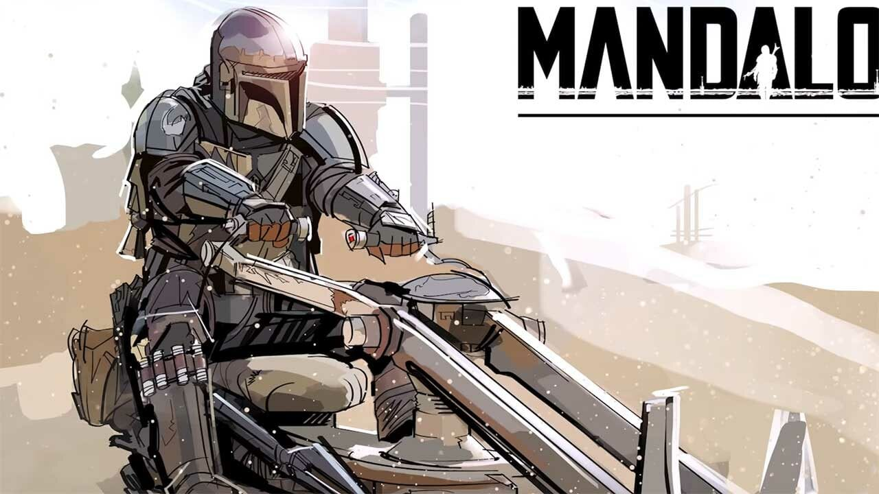 The Mandalorian: Theme als langer Lofi HipHop Mix