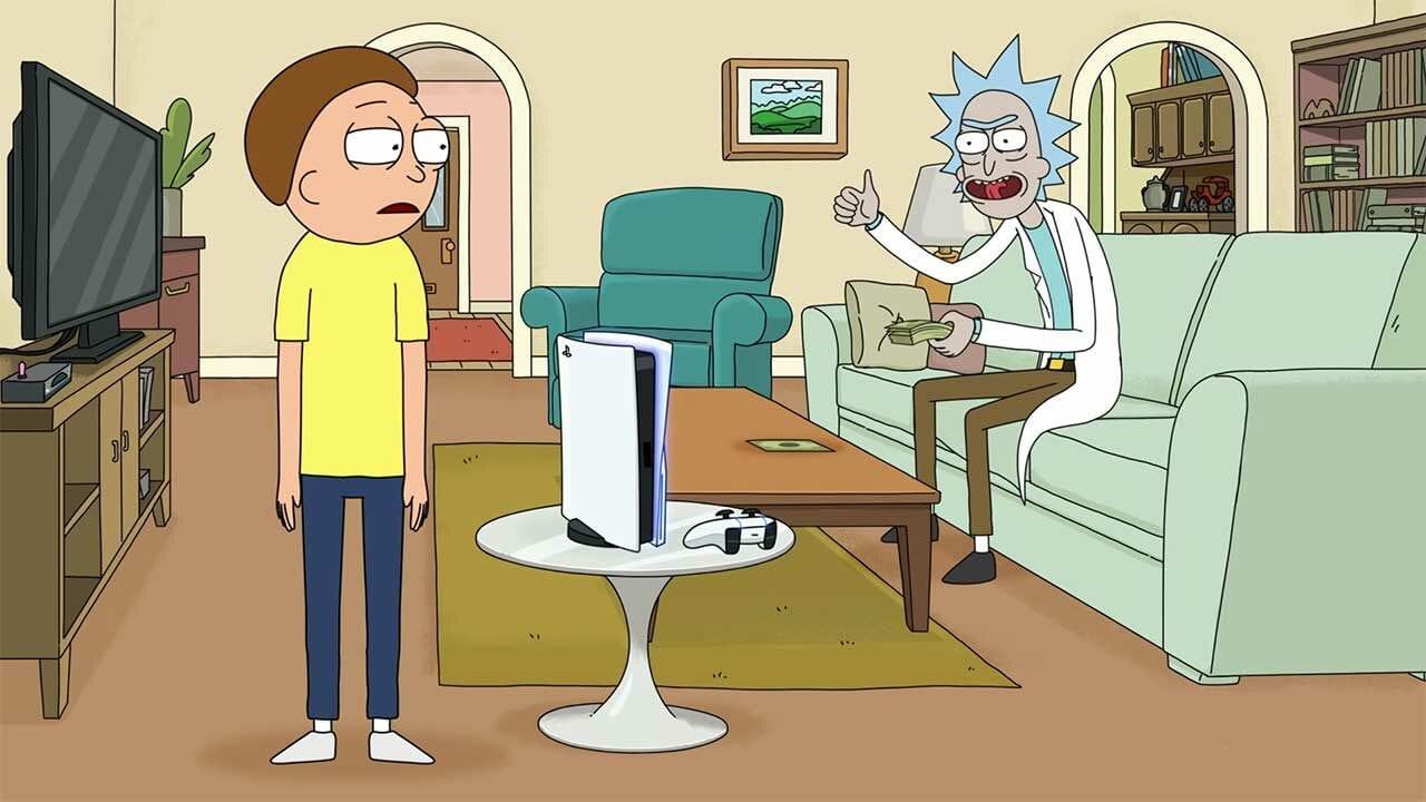 """""""Rick and Morty"""" machen Werbung für die PlayStation 5"""