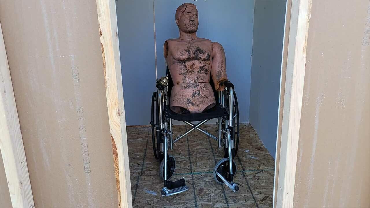 """Die Rollstuhl-Explosion aus """"Breaking Bad"""" nachgestellt"""