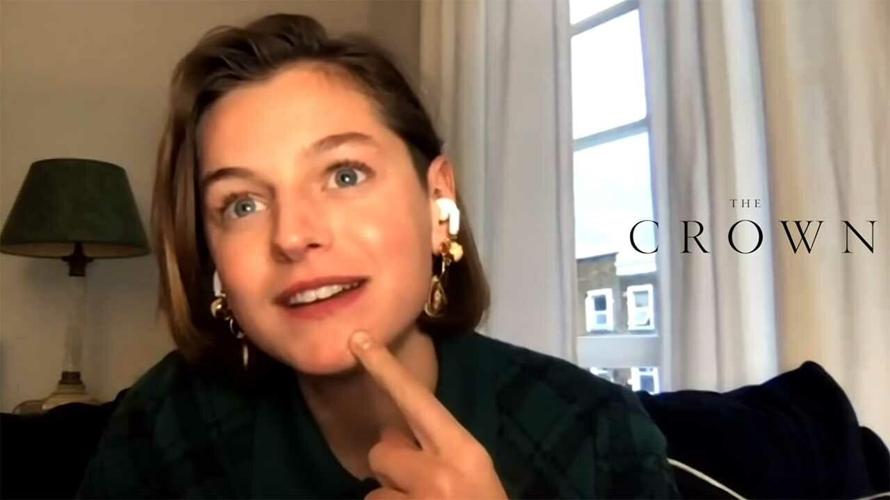 The Crown: Emma Corrin über die Stimme von Prinzessin Diana