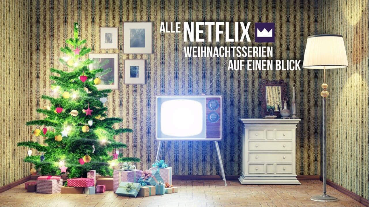 Alle Weihnachtsserien von Netflix auf einen Blick