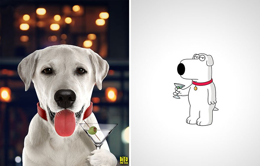Brian Griffin aus Family Guy