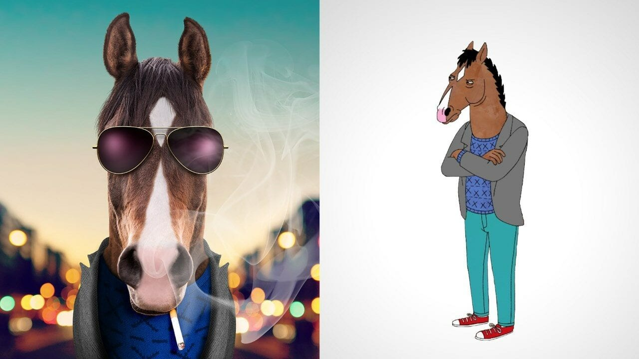 So würden Cartoon-Figuren im wahren Leben aussehen