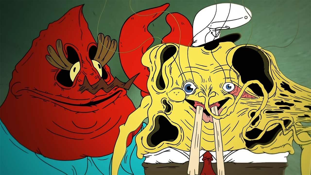 """WTF?!-Animation zur Geheimformel in """"Spongebob Schwammkopf"""""""