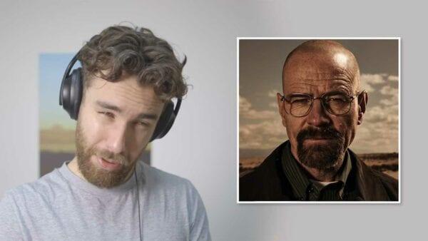 """Charlie Hopkinson macht Stimmen aus """"Breaking Bad"""" nach"""
