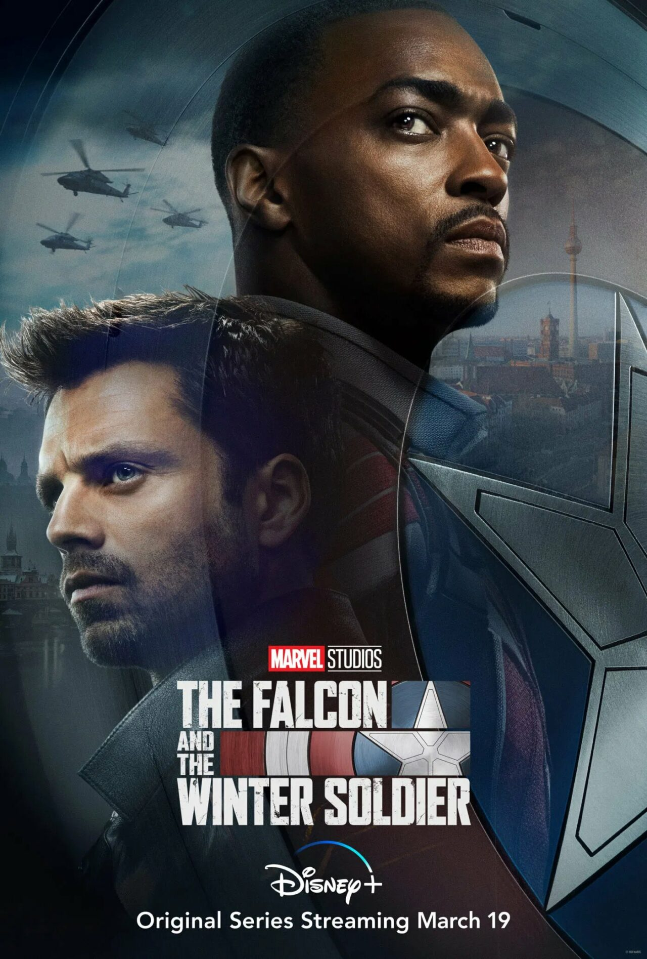 The Falcon and the Winter Soldier Teaser-Poster