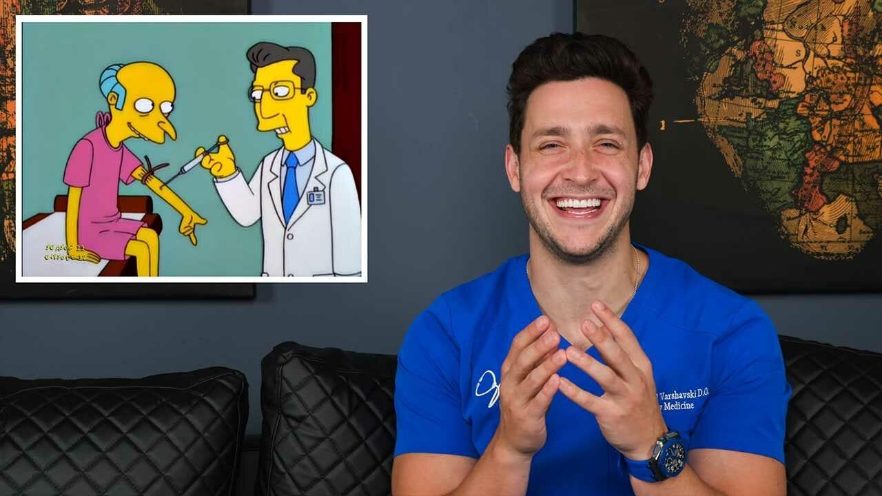 """Echter Arzt reagiert auf medizinische Szenen aus """"Die Simpsons"""""""