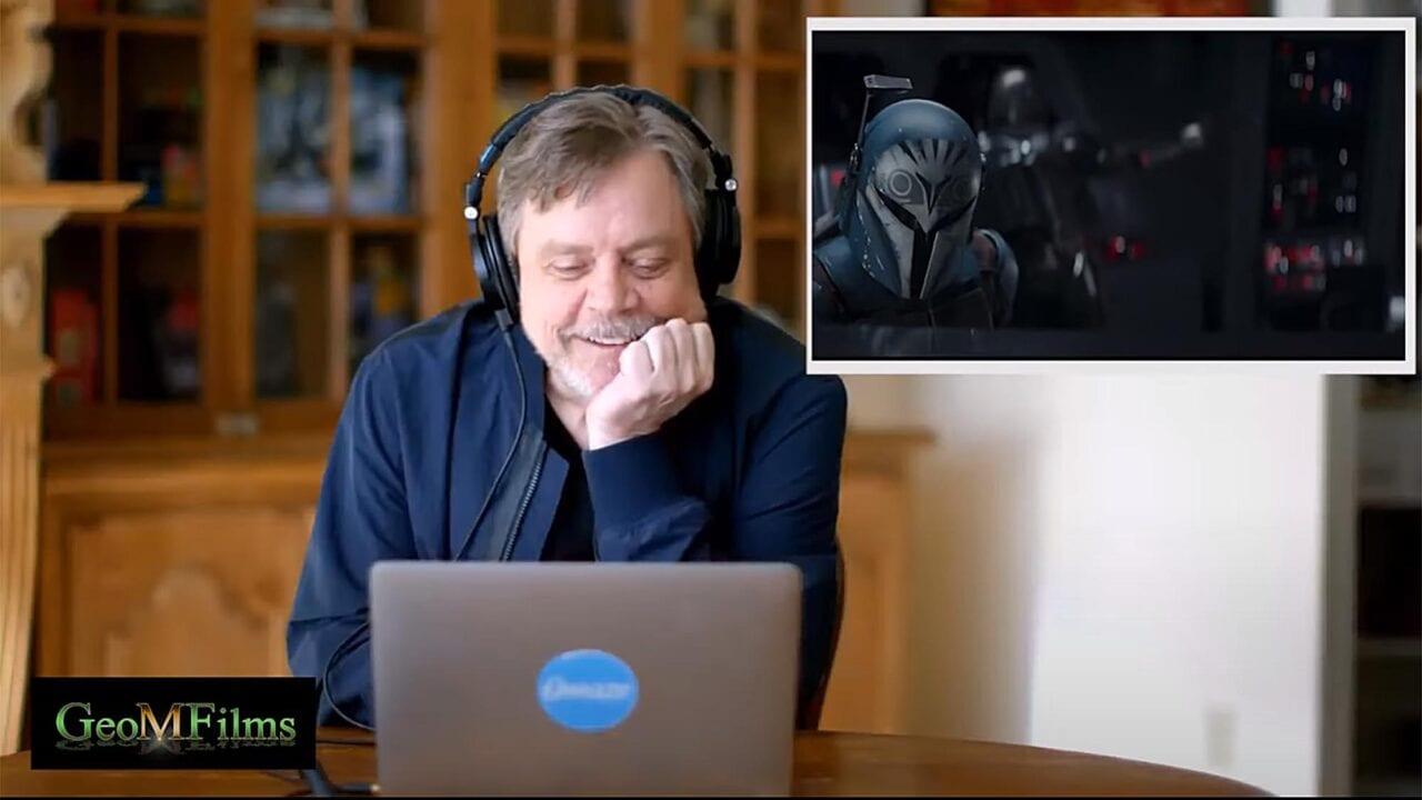 """Star Wars: Mark Hamill schaut das Staffelfinale von """"The Mandalorian"""""""