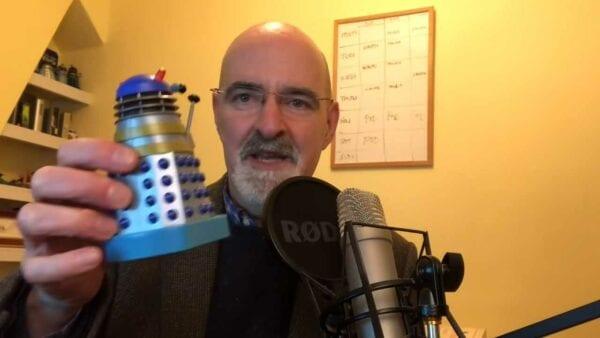 Wie die Stimme der Daleks eingesprochen wird