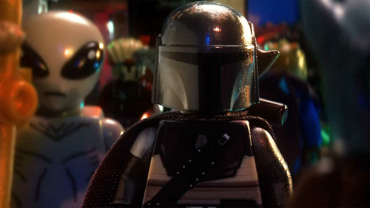 The Mandalorian: LEGO-Animation