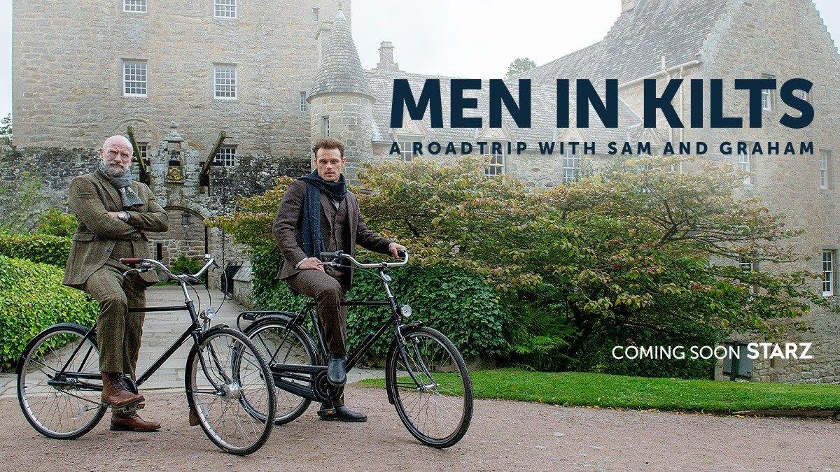 """""""Men In Kilts"""" Startdatum und Trailer zur Serie mit """"Outlander""""-Stars"""