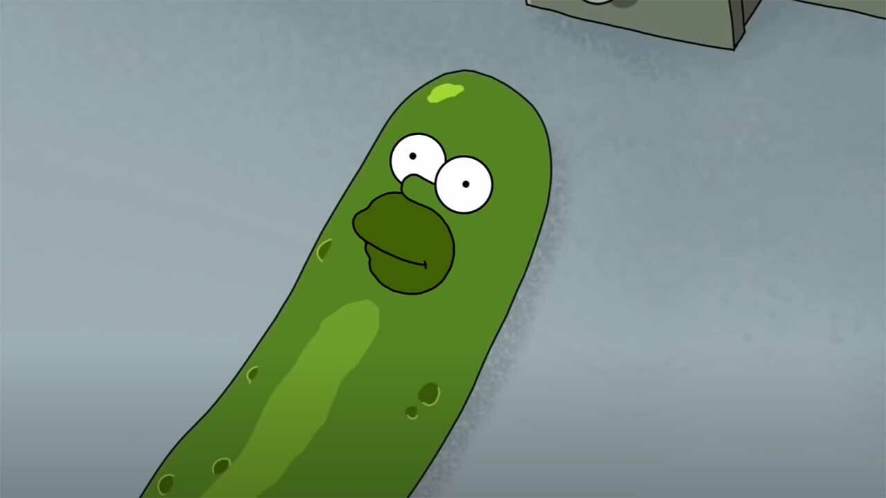 "Pickle-Homer: AI baut ""Simpsons"" in ""Rick and Morty"" ein"