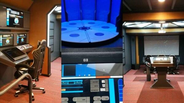 Star Trek: Fan hat DIY-Enterprise im Keller nachgebaut