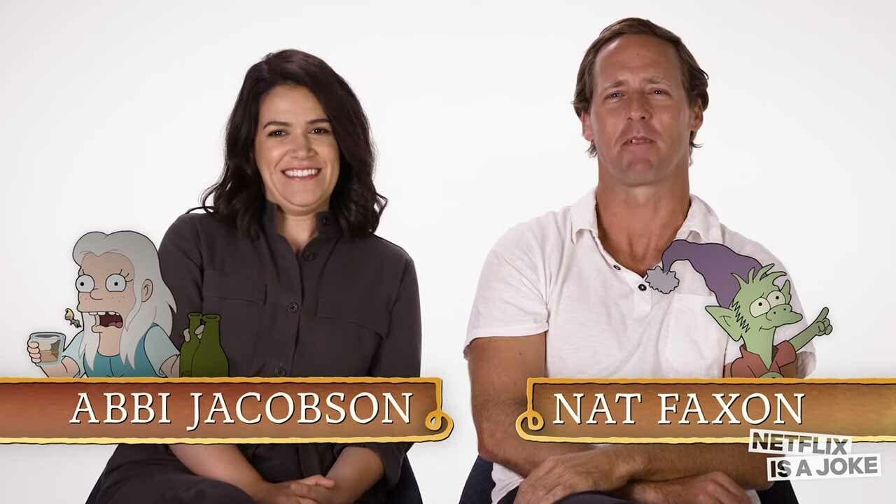 """Abbi Jacobson & Nat Faxon sprechen die """"Disenchantment""""-Figuren des jeweils anderen"""