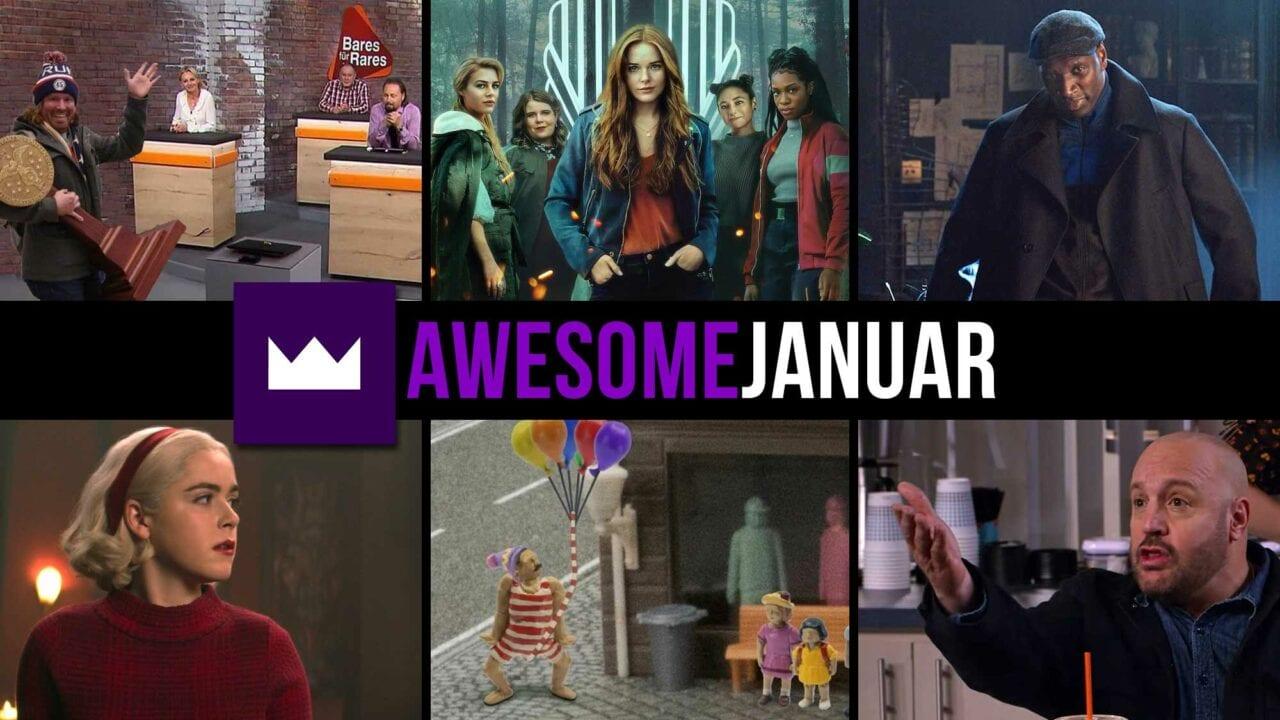Toplisten: Die beliebtesten TV-Serien des Monats Januar 2021