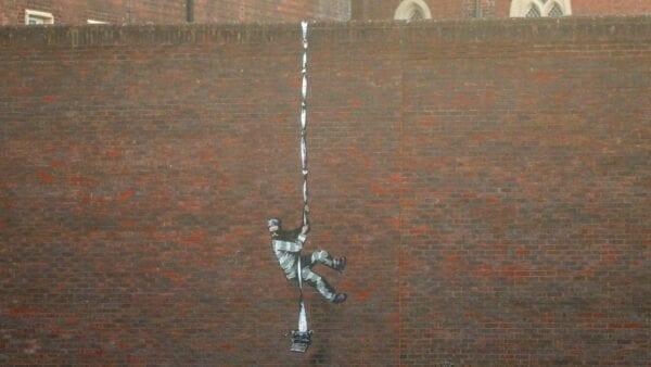 "Video zu Banksys Street Art im ""The Joy of Painting""-Stil"