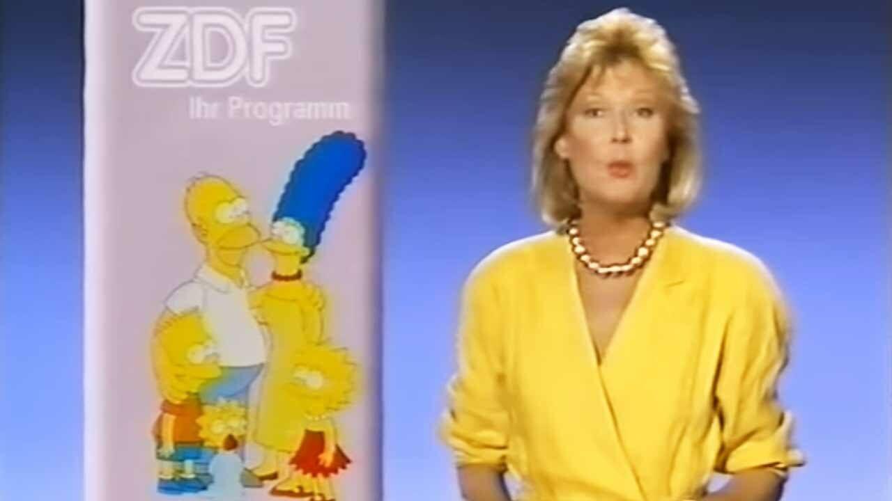 Die Simpsons: Deutsche Erstausstrahlung im ZDF (Mitschnitt von 1991)