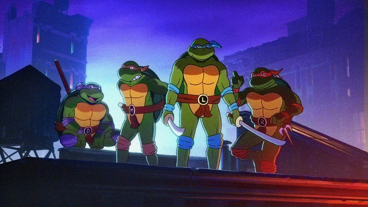 Teenage Mutant Ninja Turtles: Videospielankündigung huldigt klassischem Zeichentrickintro