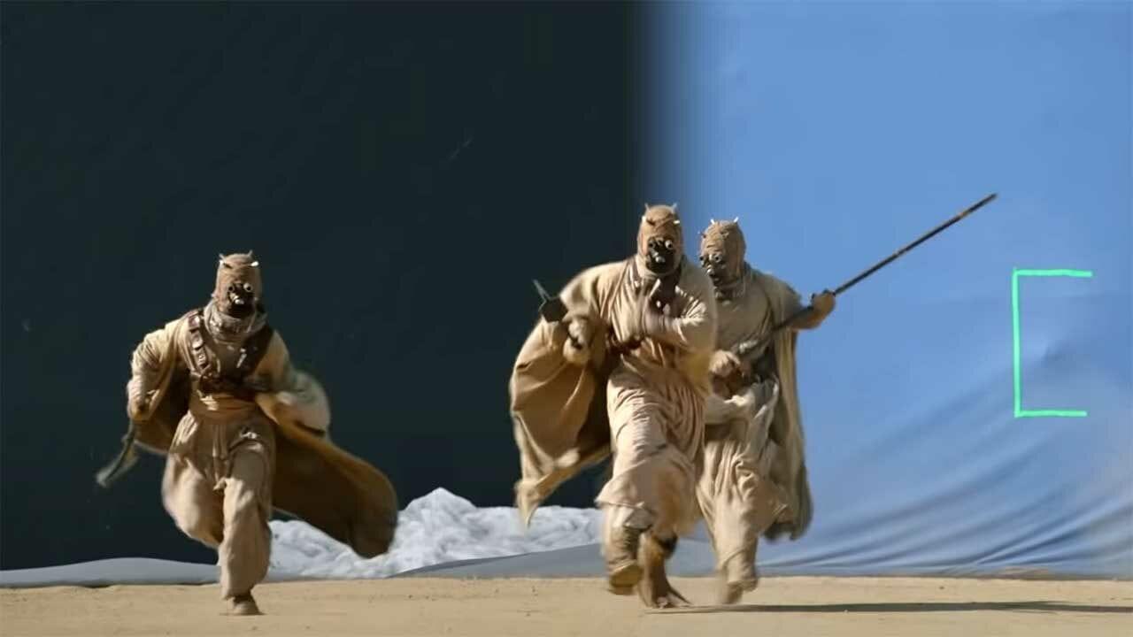 """Making of der Spezialeffekte in Staffel 2 von """"Star Wars: The Mandalorian"""""""