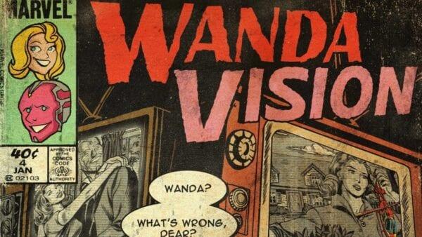 WandaVision: Ein Vintage-Comic-Cover für jede Folge
