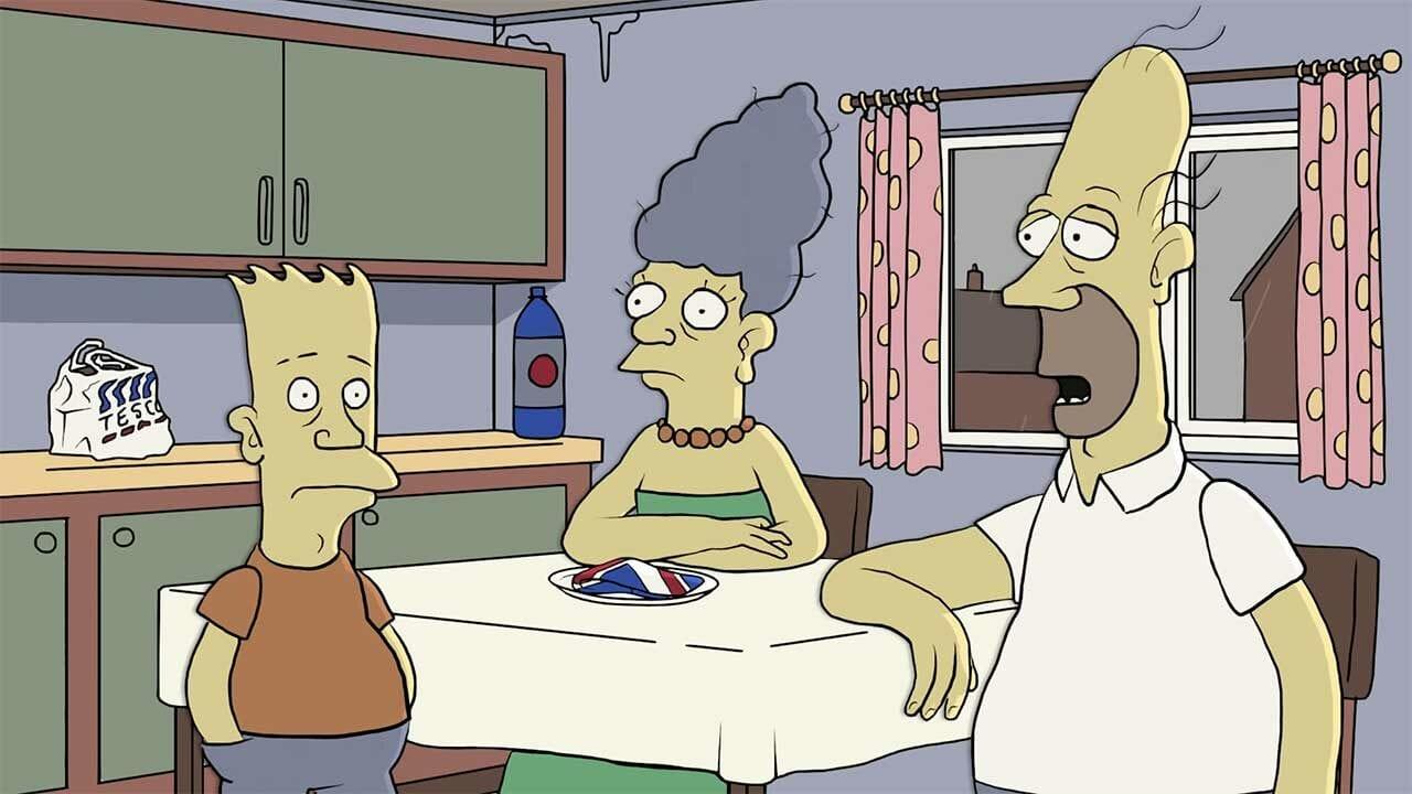 """Wenn """"The Simpsons"""" eine britische Serie wären…"""