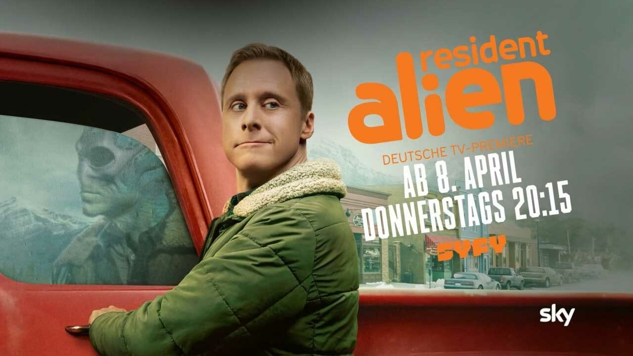 Resident Alien: Deutschland-Start am 8. April auf SYFY