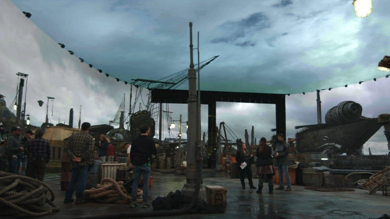 The Mandalorian: Featurette zu den bahnbrechenden visuellen Effekte