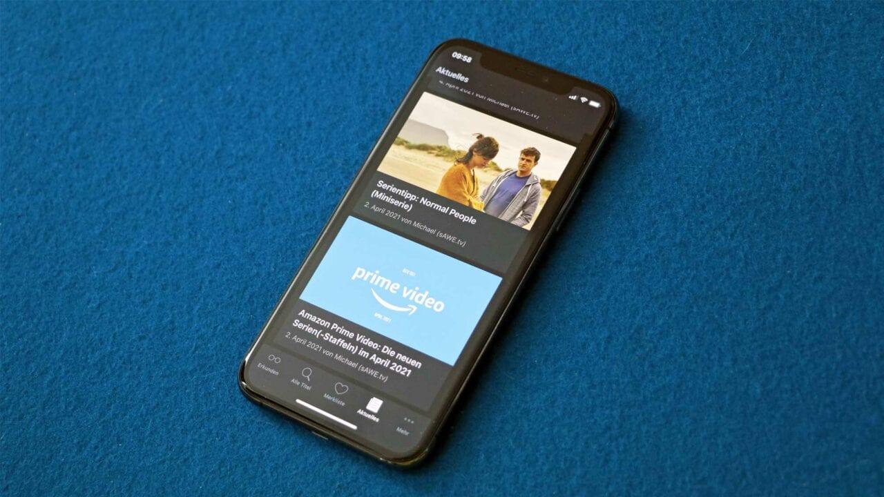 """App """"WhatsOnPrime?"""" gibt Überblick zu Amazon-Inhalten & sAWE-Beiträge"""