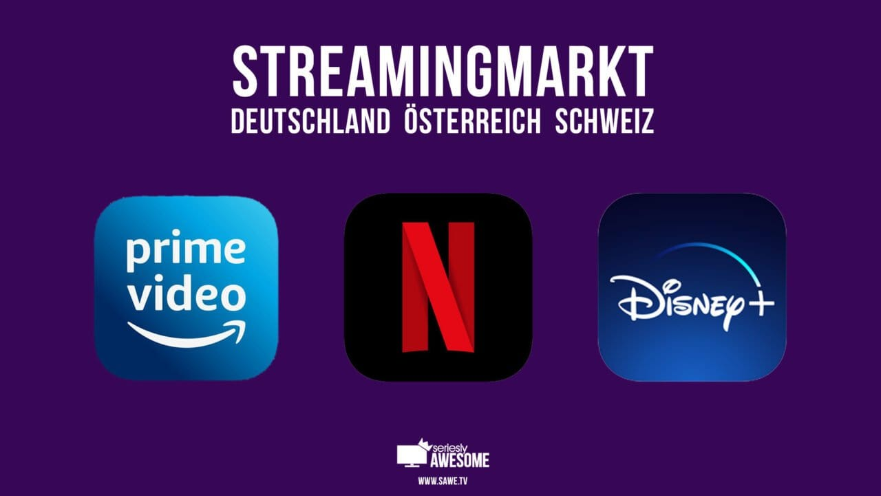 Streamingmarkt im 1. Quartal 2021: So schlägt sich Disney+ gegenüber Netflix und Amazon Prime