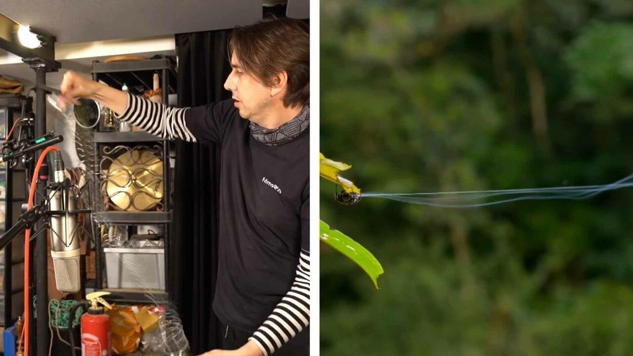 Wie ein Tonmeister die Geräusche in Naturdokumentationen erstellt
