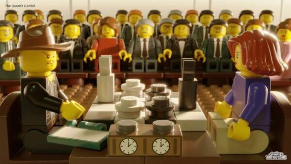 Berühmte Szenen aus Netflix-Serien mit LEGO nachgebaut