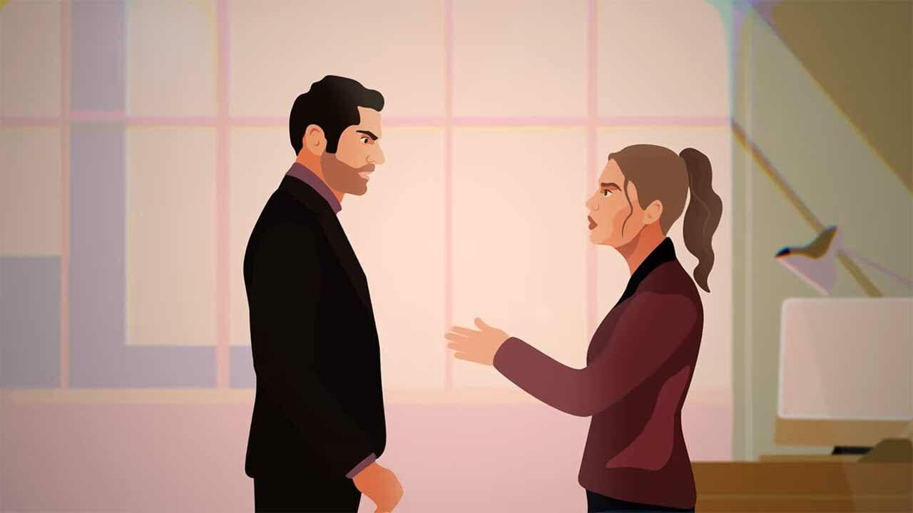 """Lucifer""-Synchronsprecher Manou Lubowski liest animierte Fan-Fiction"