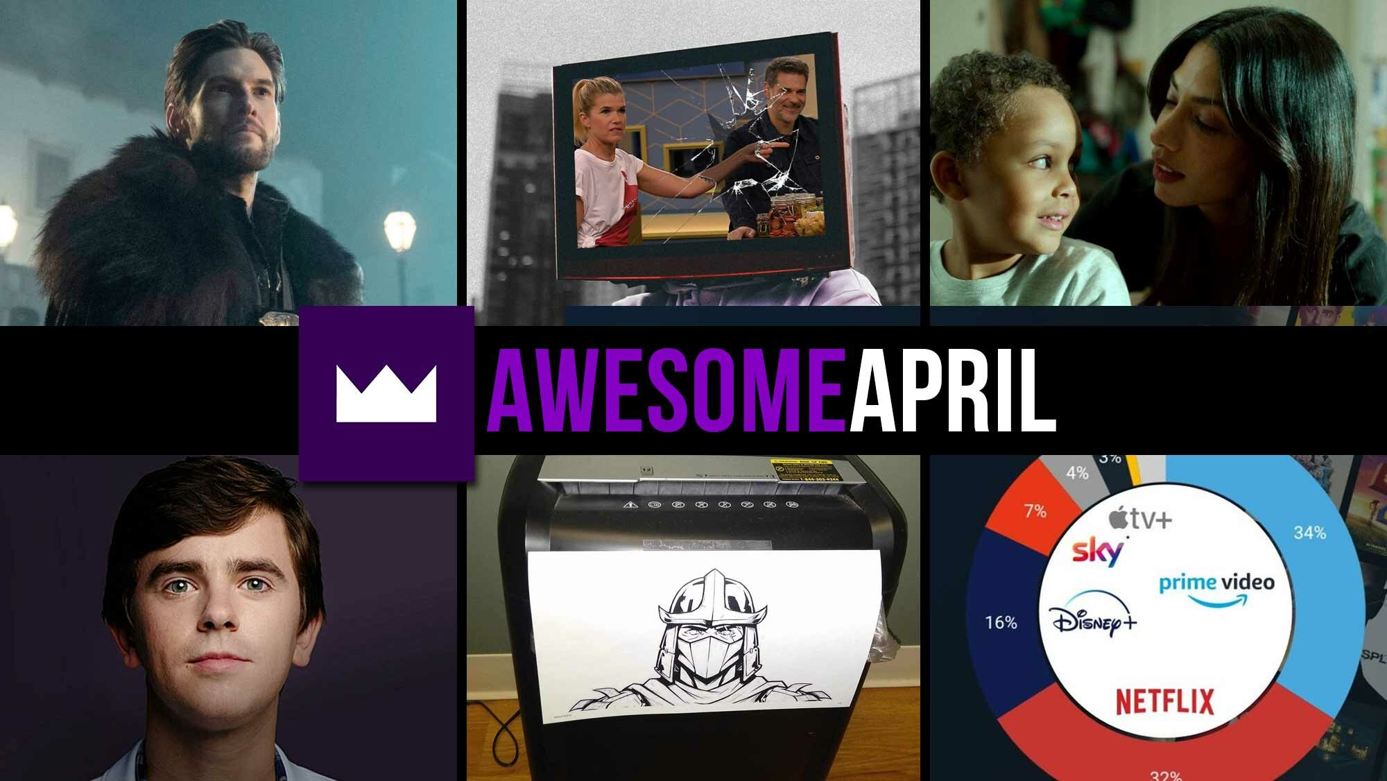 Toplisten: Die beliebtesten TV-Serien des Monats April 2021