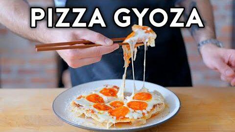 """Binging with Babish: Pizza Gyoza from """"Teenage Mutant Ninja Turtles"""""""