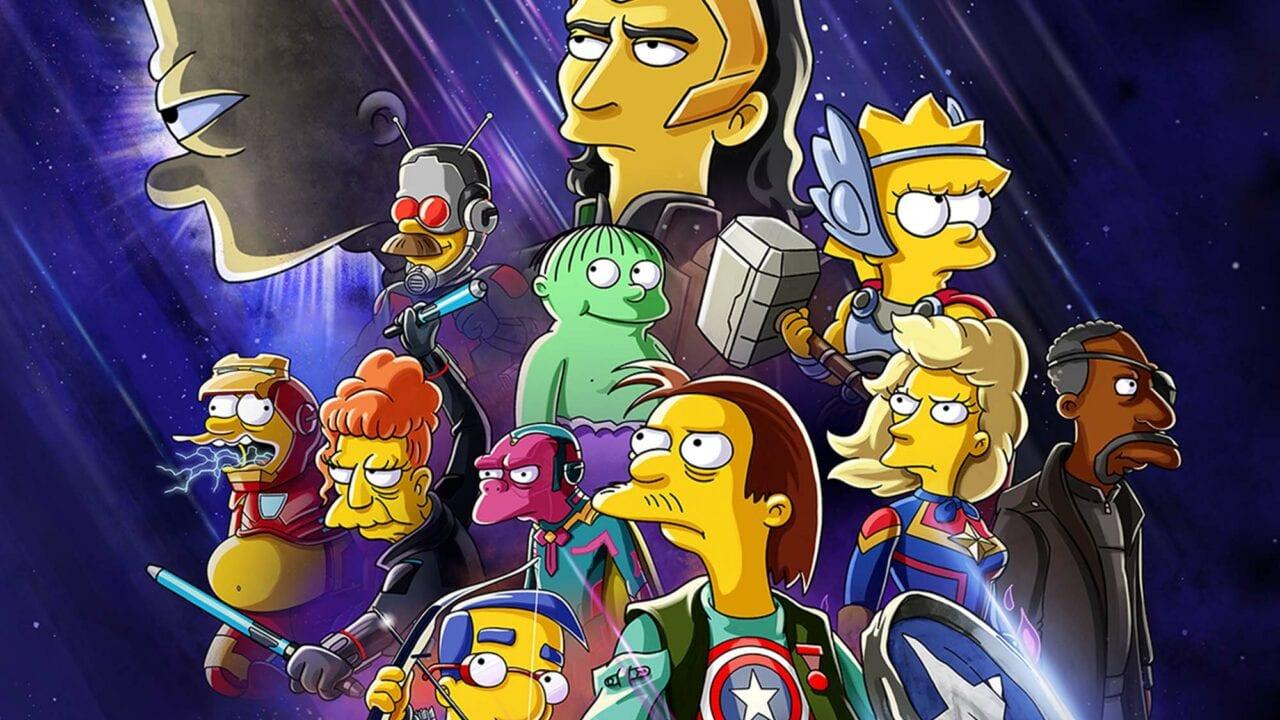 """Disney+ zeigt Crossover von """"Marvel's Loki"""" und """"The Simpsons"""""""
