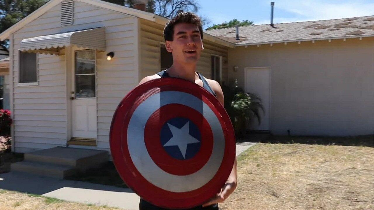 Marvel-Fan kreiert ein funktionsfähigen Captain America Schild