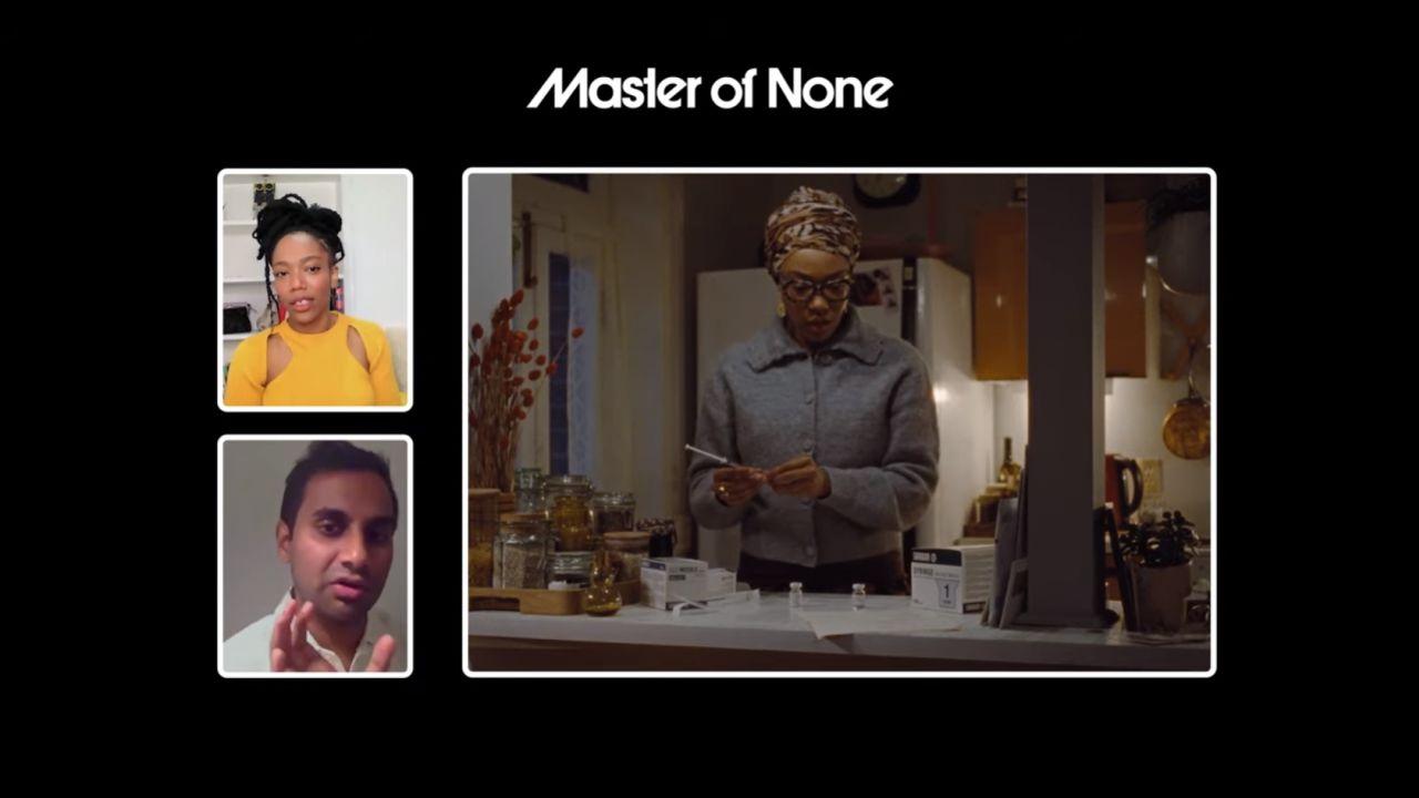 Master of None Script to Screen with Aziz Ansari & Naomi Ackie