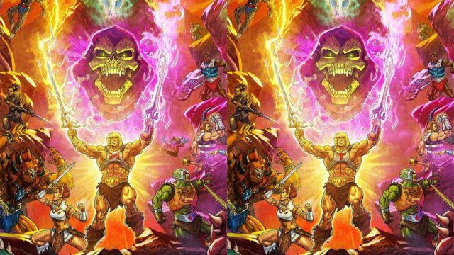 """Fehlersuchbild: 10 Unterschiede zum Start von """"Masters of the Universe: Revelation"""""""