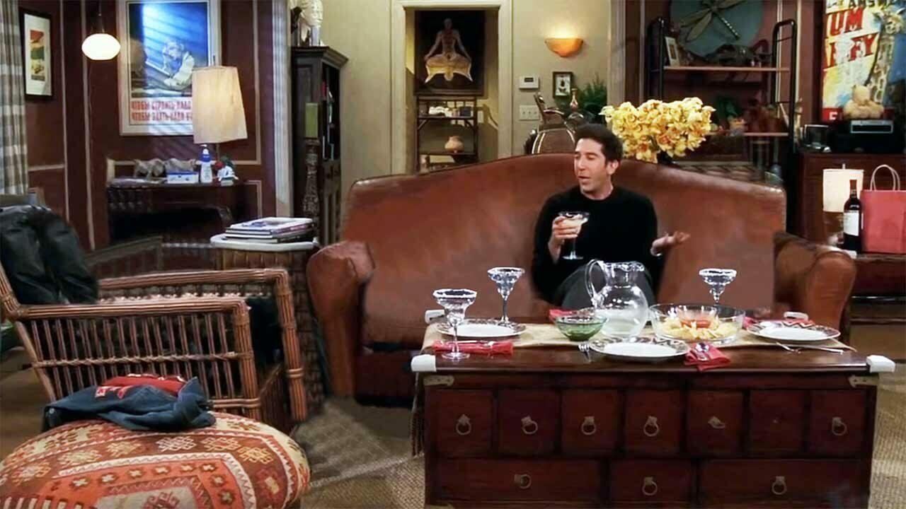 """Friends"", aber Ross ist schizophren…"