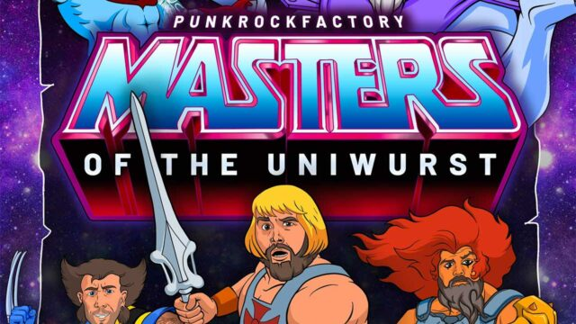 """Punkrock-Cover alter Cartoon-Themes: """"Masters of the Uniwurst"""""""