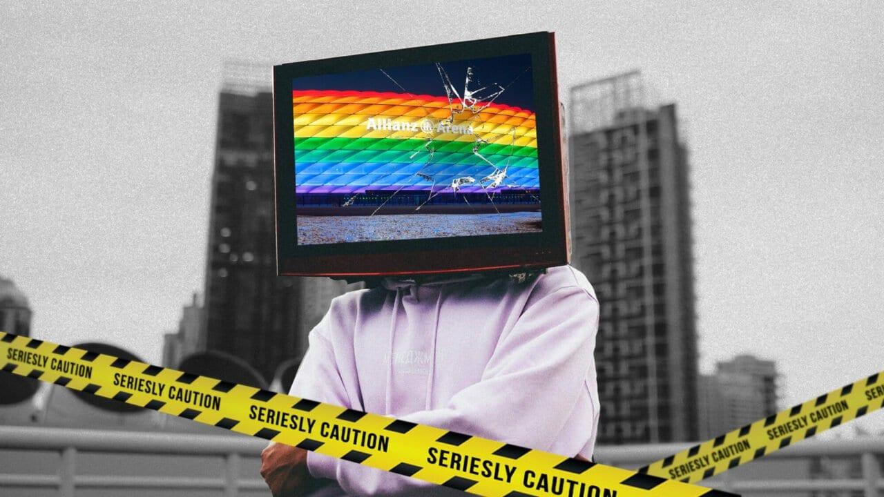 Mein TV-Aufreger der Woche: Regenbögen; aber nur bei Sponsoren bitte!