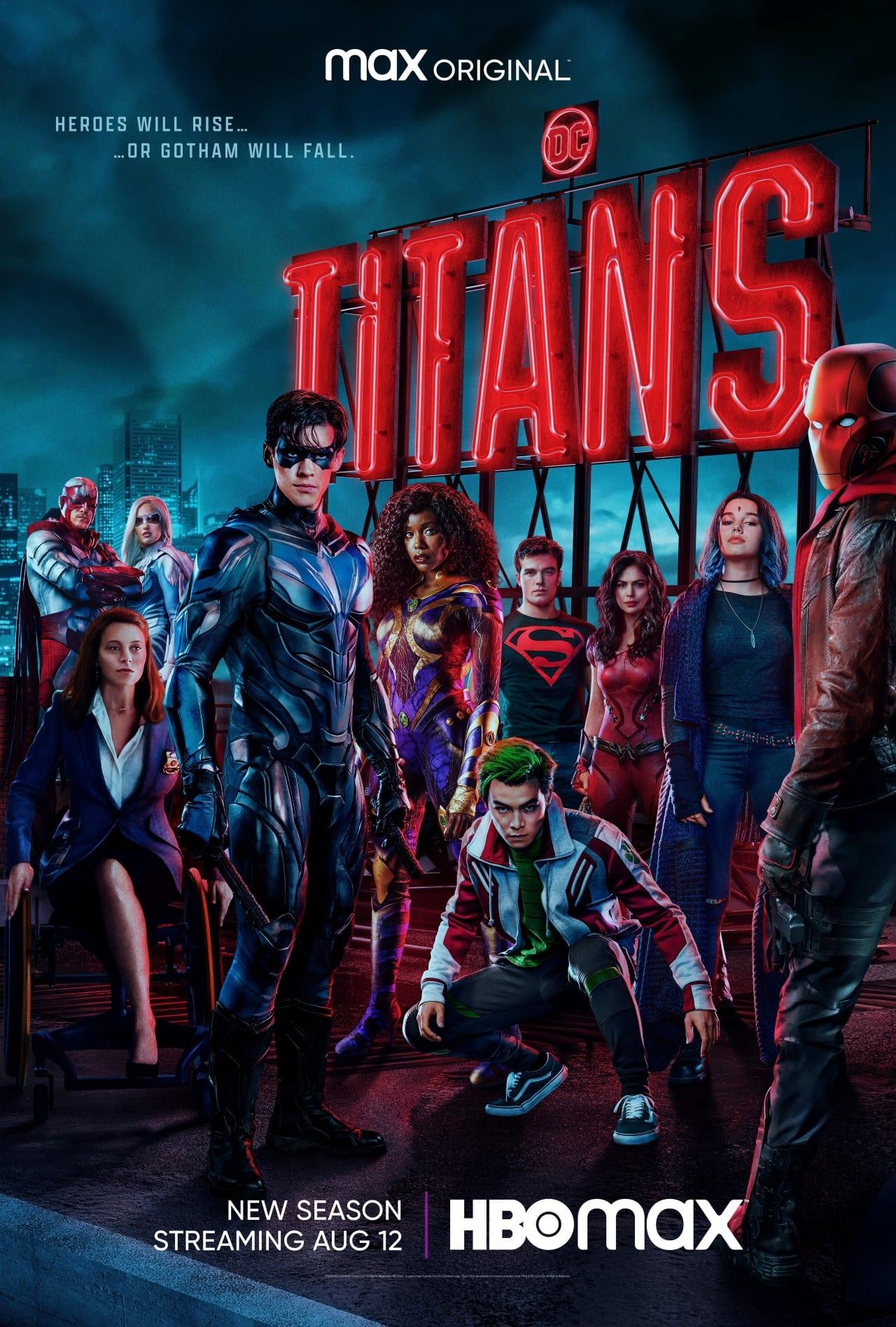 Titans Staffel 3 Poster
