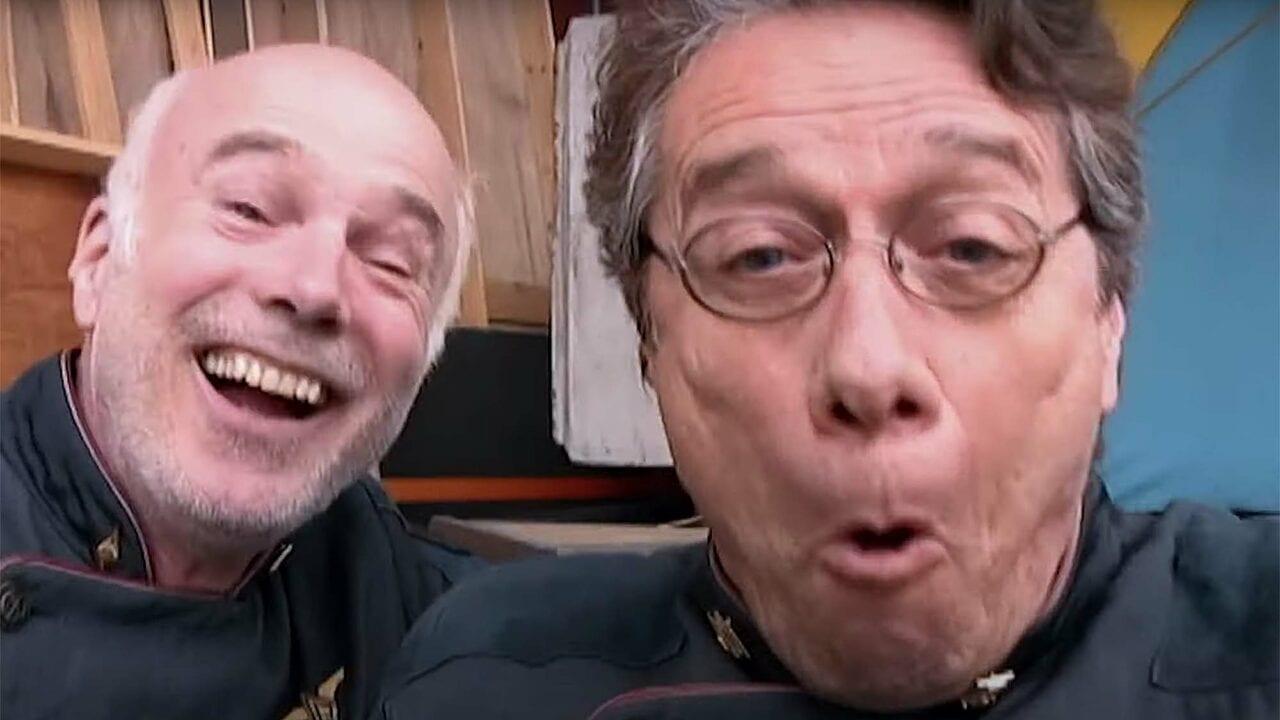 Battlestar Galactica: Cast scherzt mit Komponist Bear McCreary